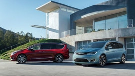 Fiat Chrysler recalls Chrysler Pacifica minivans to fix seat belt