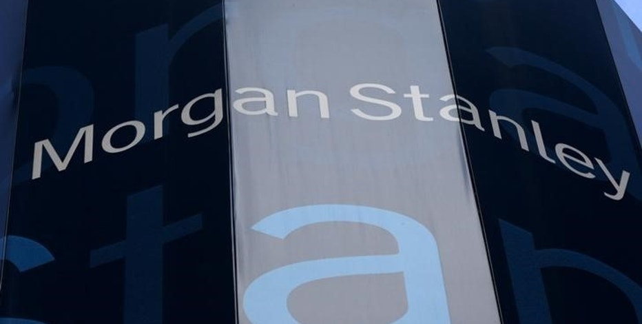 The corporate logo of financial firm Morgan Stanley is pictured on the company's world headquarters in New York, New York January 20, 2015.    REUTERS/Mike Segar/File Photo