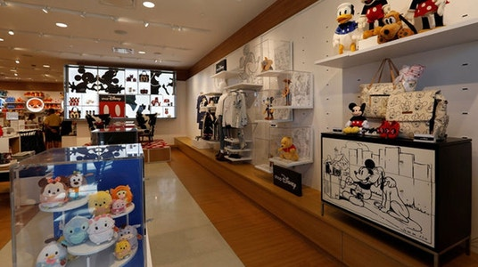 Disney tests new store design as shoppers go online