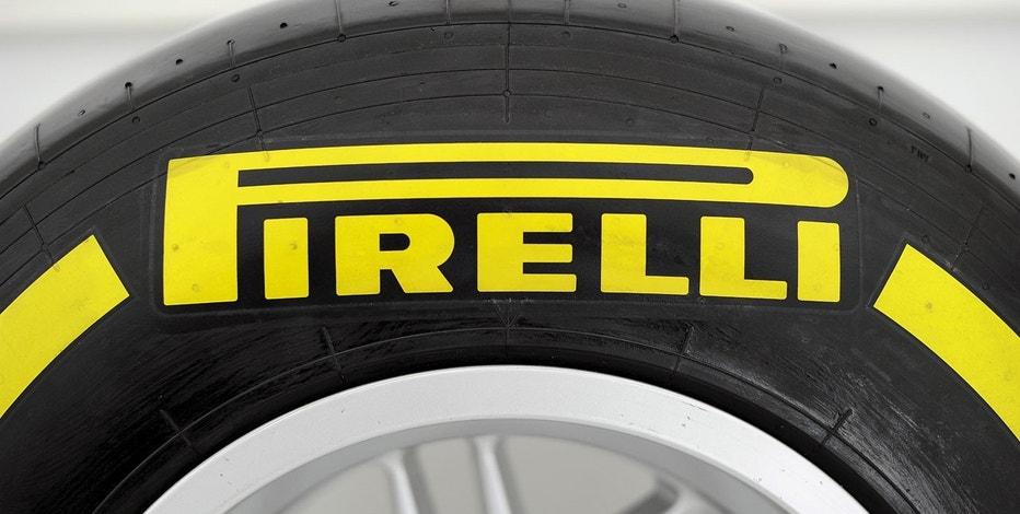 A Pirelli tire is pictured at the headquarters in Milan March 26, 2015.
