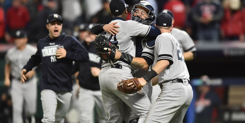 Yanks Beat Indians  USA Today Sports