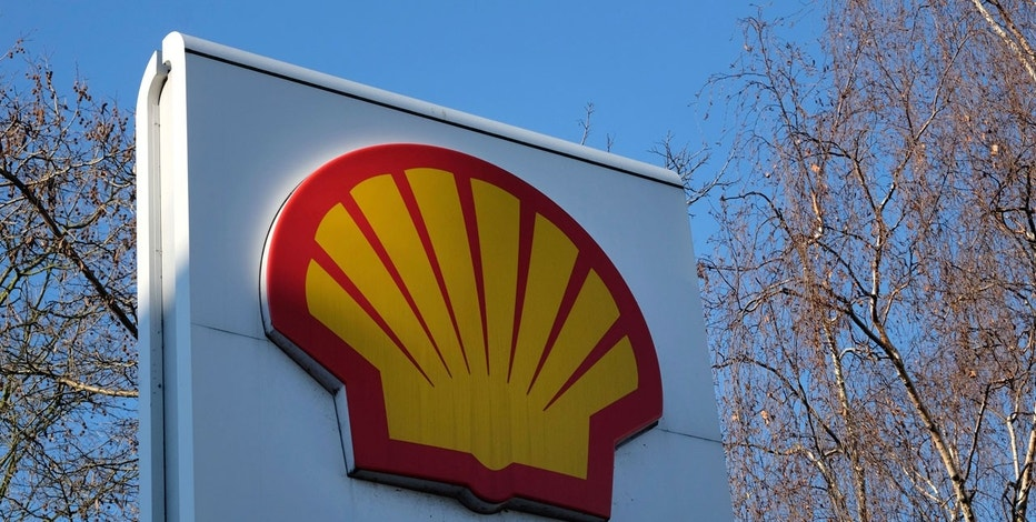 This Wednesday, Jan. 20, 2016, photo shows the Shell logo at a petrol station in London.