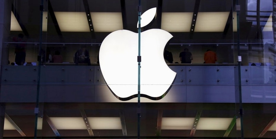 FILE PHOTO - Customers can be seen inside the Apple store in central Sydney, Australia, March 18, 2016. REUTERS/David Gray/File photo