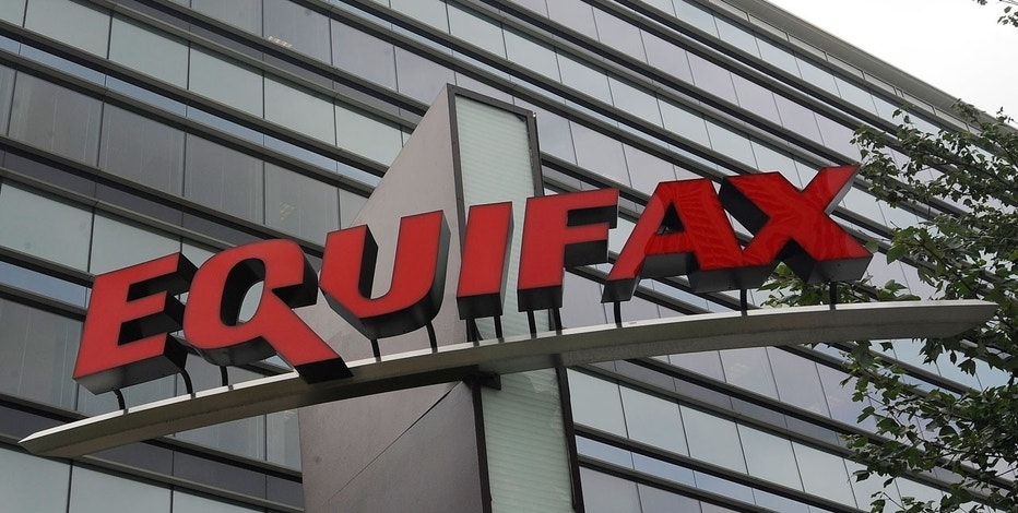 This July 21, 2012, file photo shows signage at the corporate headquarters of Equifax Inc. in Atlanta.