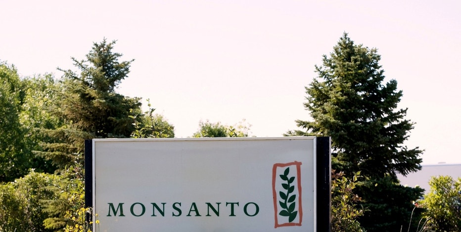 FILE PHOTO: Monsanto's research farm is pictured near Carman, Manitoba, Canada on August 3, 2017. REUTERS/Zachary Prong/File Photo