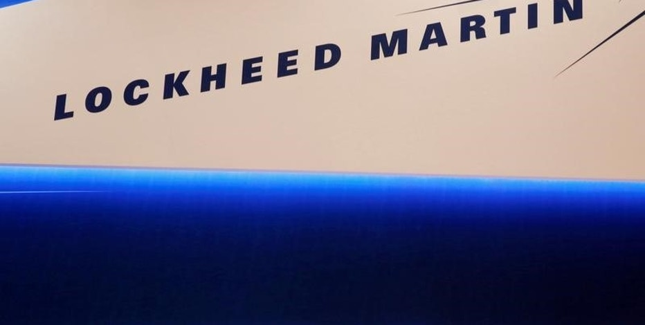 Lockheed Martin's logo is seen during Japan Aerospace 2016 air show in Tokyo, Japan, October 12, 2016.  REUTERS/Kim Kyung-Hoon