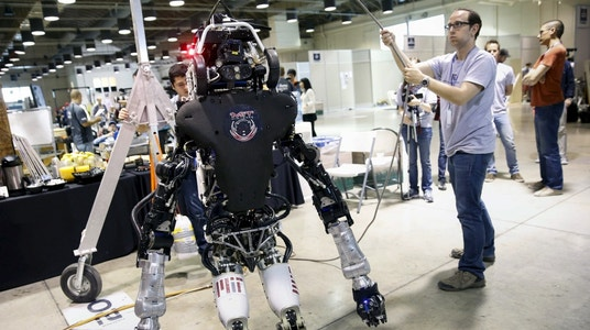 Robots could be used as weapons of mass destruction, cyber Security expert warns
