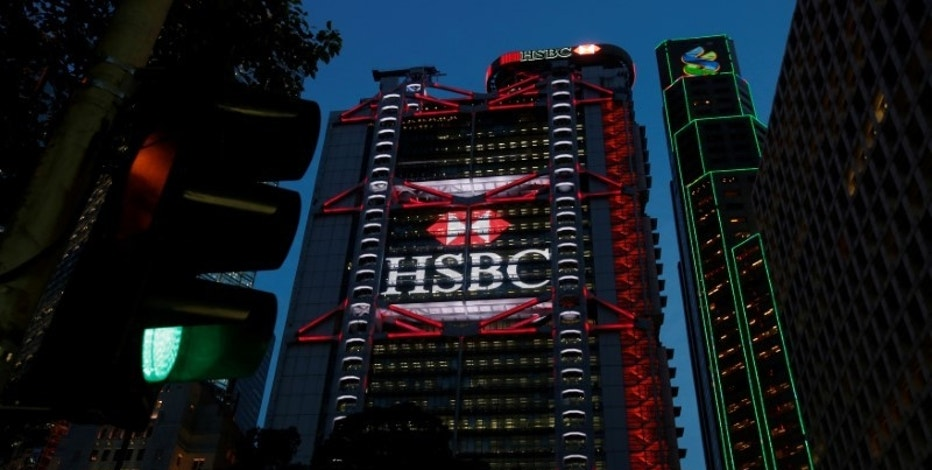 HSBC headquarters is seen at the financial Central district in Hong Kong, China September 6, 2017. REUTERS/Bobby Yip