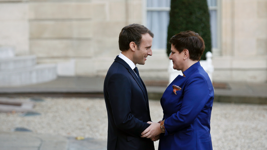 French, Polish leaders start to mend strained ties