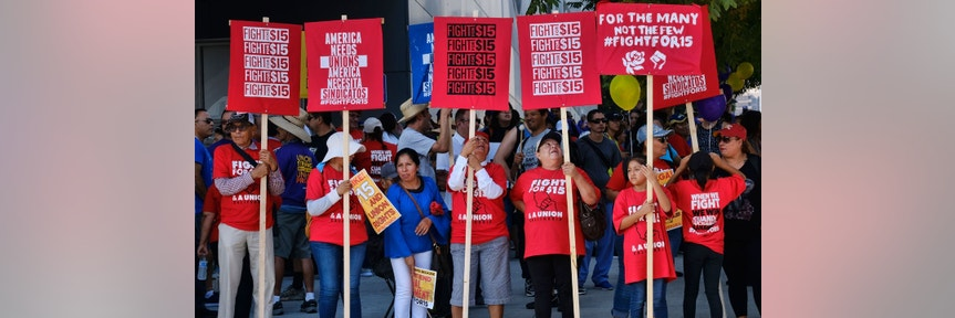 $15 minimum wage to cost California 400K jobs: Study
