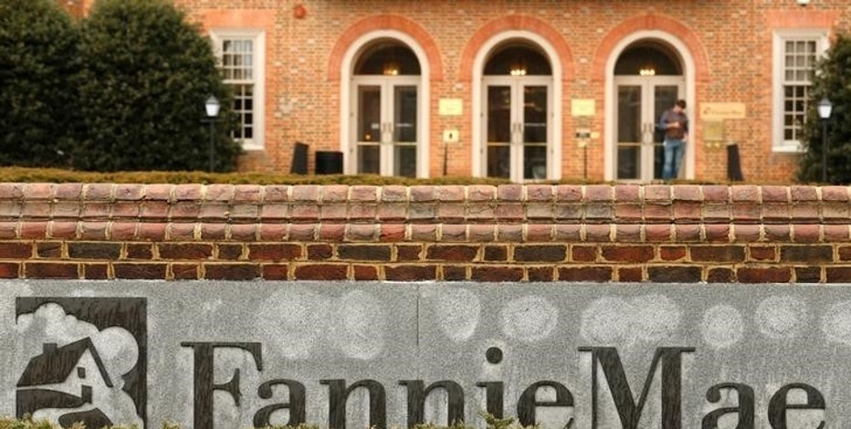 FILE PHOTO:  Fannie Mae headquarters is seen in Washington, DC, U.S. on February 21, 2014.  REUTERS/Kevin Lamarque/File Photo