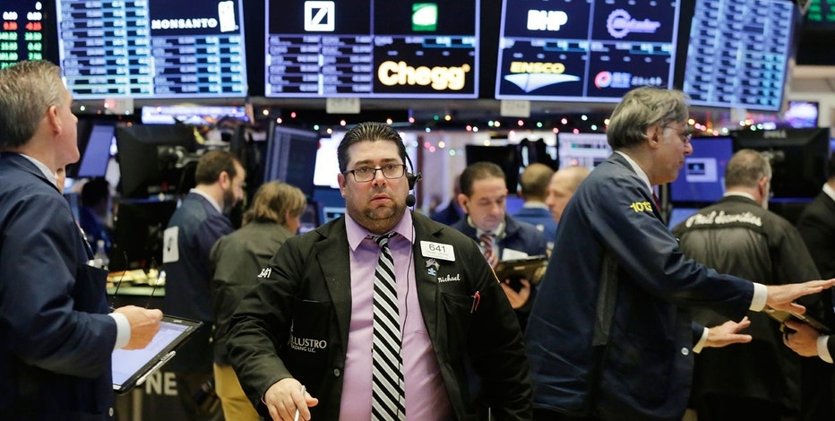 United States stocks open higher; S&P 500 tracking for best year since 2013