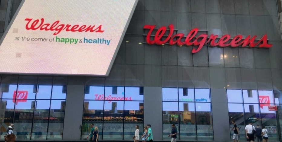 Walgreens' Q1 profit falls, but pharmacy sales up 8.9%