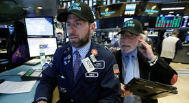 Stocks fade after record-setting rally