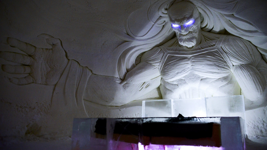 "Winter is here: ""Game of Thrones"" ice hotel opens in Finland"