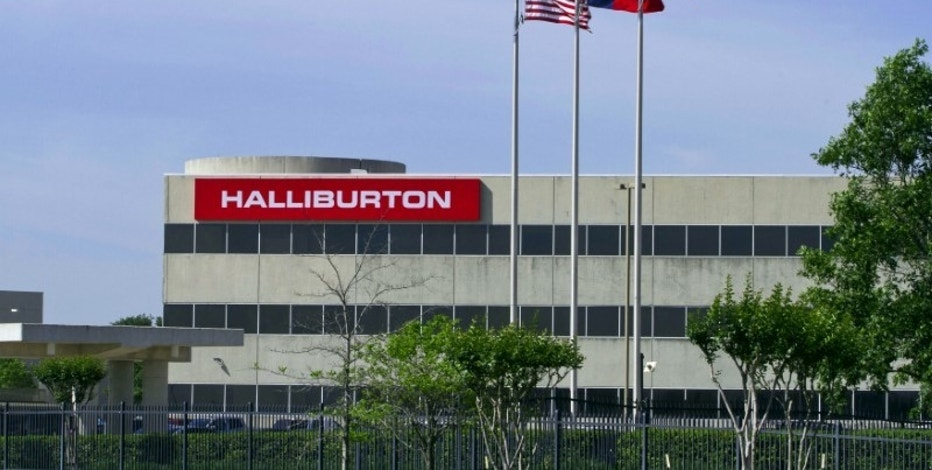 Halliburton 4th-qtr profit beats, firm takes charge for Venezuela
