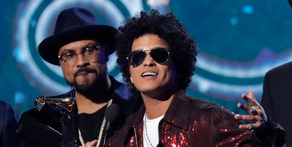 60th Annual Grammy Awards 2018: Bruno Mars wins Song of the Year