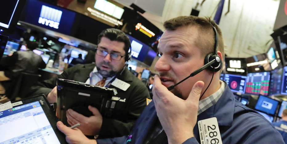 Markets Right Now: Stocks struggle to stabilize after tumult