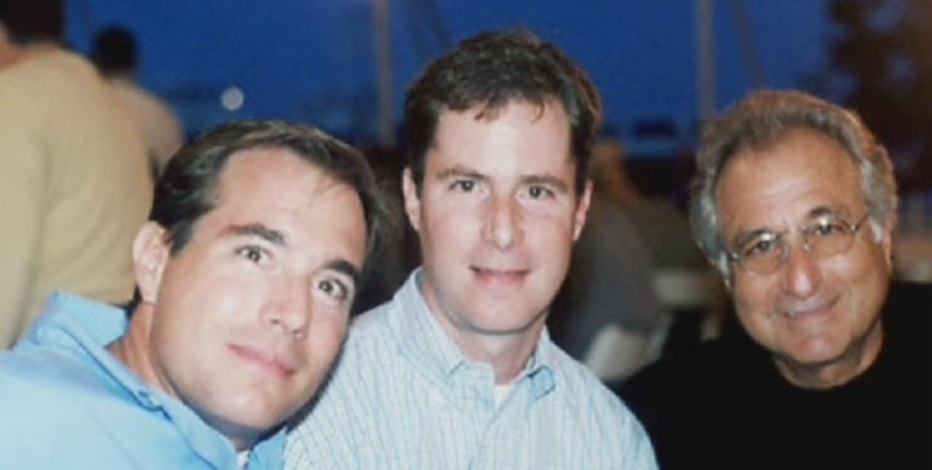 Bernie Madoff's oldest son, Mark Madoff, featured on the far left in this photo was found dead in NYC apartment.