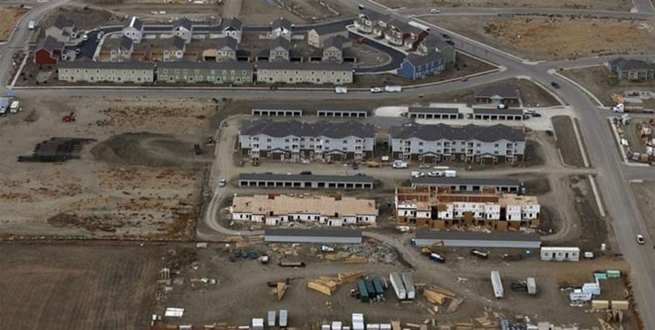 Residential developments being constructed in Williston, North Dakota, October 19, 2012. Thousands of people have flooded into North Dakota to work in state's oil drilling boom.
