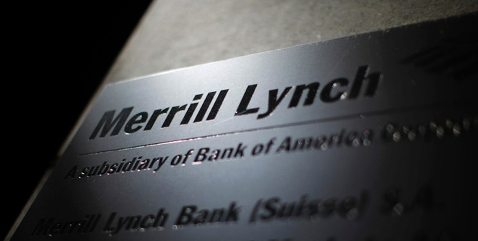 A logo of Merrill Lynch is pictured at a branch in Zurich August 12, 2012. REUTERS/Michael Buholzer (SWITZERLAND - Tags: BUSINESS LOGO) - RTR36QVH