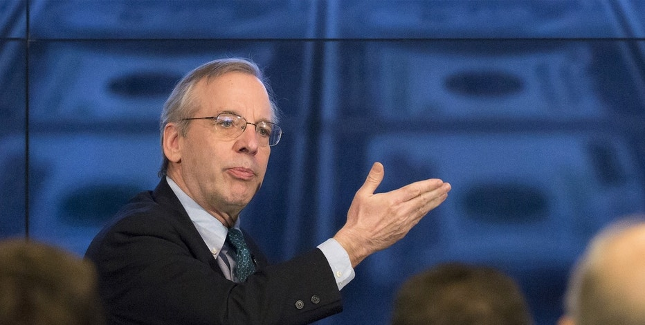 New York Federal Reserve Bank President William Dudley speaks at a Thomson Reuters newsmaker event in New York April 8, 2015.