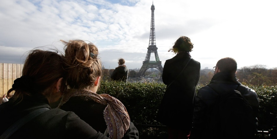 A moment of silence recognized for those killed in the November 13, 2015  Paris terrorist attacks.