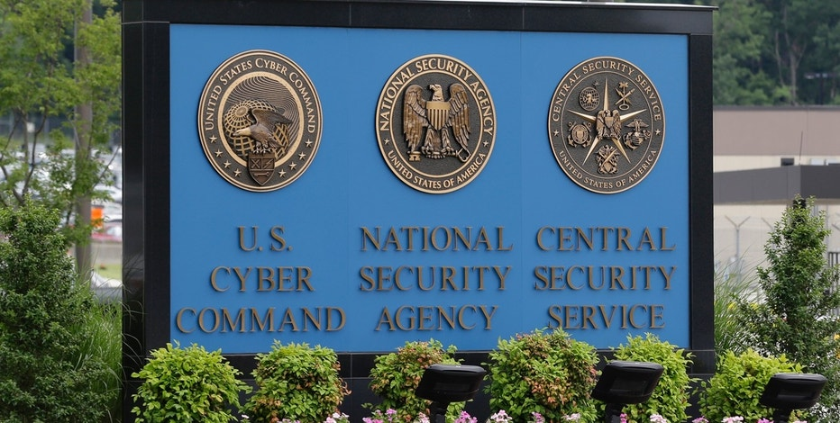 FILE In this June 6, 2013 file photo, a sign stands outside the National Security Agency (NSA) campus in Fort Meade, Md. The Justice Department warned lawmakers that the National Security Agency will have to wind down its bulk collection of Americans' phone records by the end of the week if Congress fails to reauthorize the Patriot Act. (AP Photo/Patrick Semansky, File)