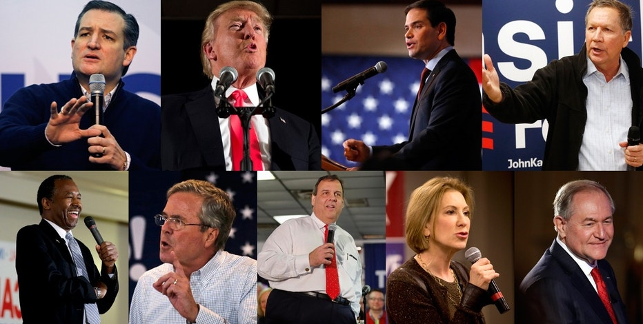 GOP Candidate Collage FBN