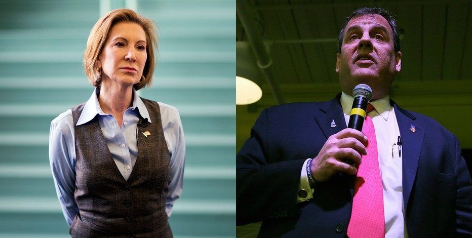 Carly Fiorina and Chris Christie FBN