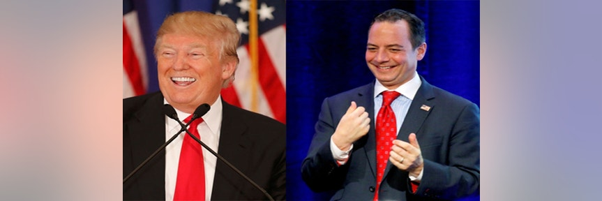RNC's Priebus Gathers Big GOP Donors, As Trump Indiana Win May Cement Nomination