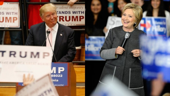 Trump, Clinton Lead Early in Indiana