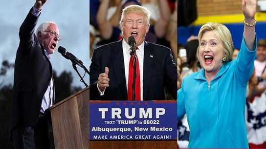 Campaigns By the Numbers: Clinton, Sanders, Trump