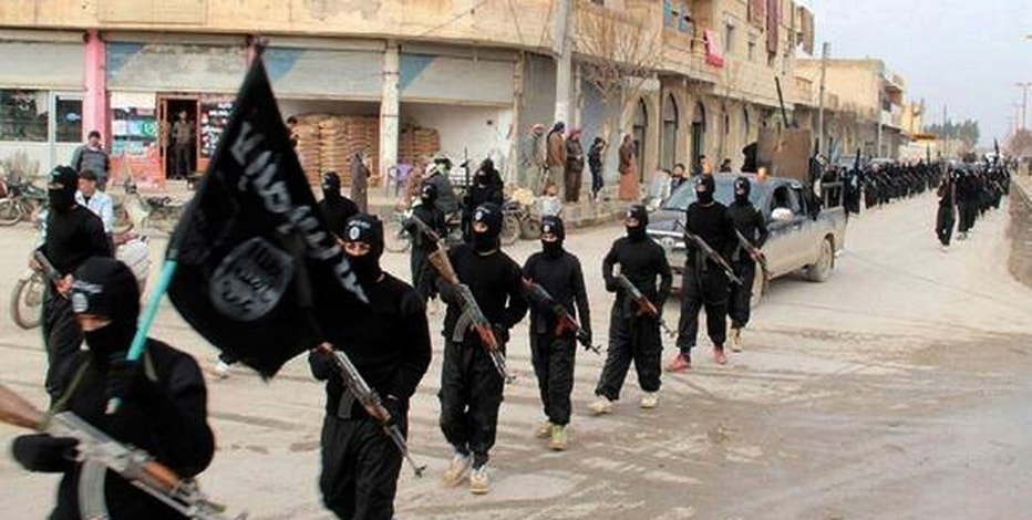 Mideast Islamic State Syrian Stronghold