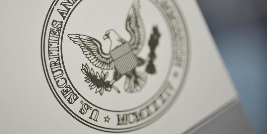 The U.S. Securities and Exchange Commission logo adorns an office door at the SEC headquarters in Washington, June 24, 2011. REUTERS/Jonathan Ernst