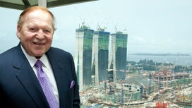Casino Mogul Sheldon Adelson Tells Trump to Dial It Down