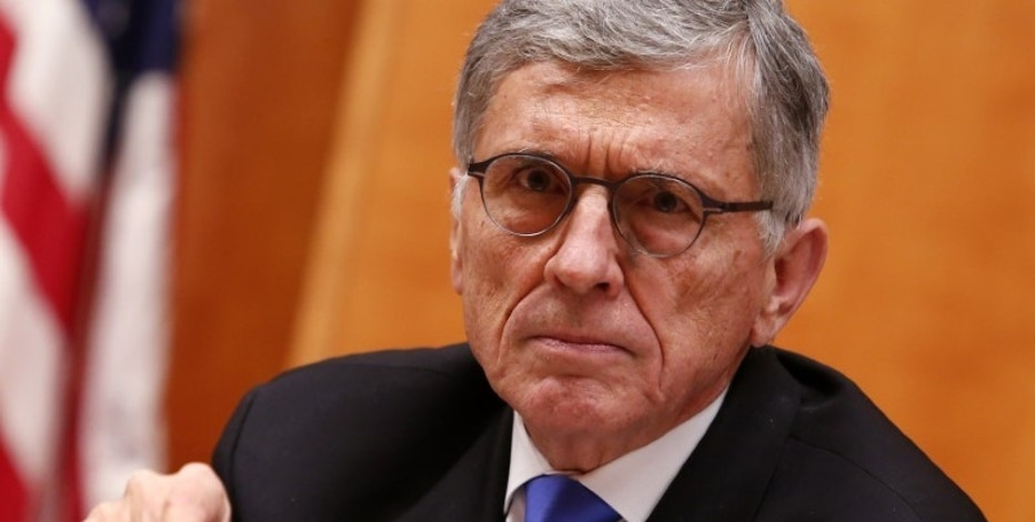 Federal Communications Commission (FCC) Chairman Tom Wheeler speaks at the FCC Net Neutrality hearing in Washington DC, U.S. February 26, 2015.   REUTERS/Yuri Gripas/File Photo