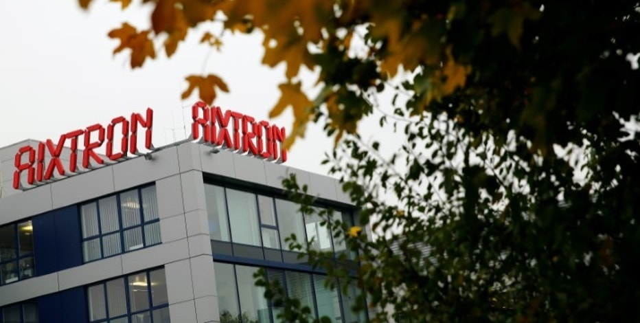 The headquarters of German chip equipment maker Aixtron SE is pictured in Herzogenrath near the western German city of Aachen, October 25, 2016. REUTERS/Wolfgang Rattay