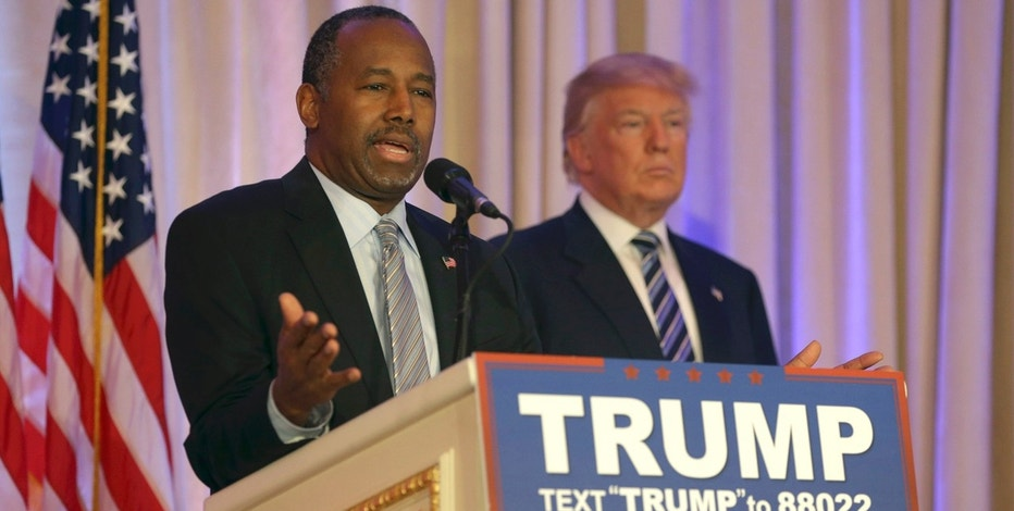 Carson Speaking Support Trump FBN