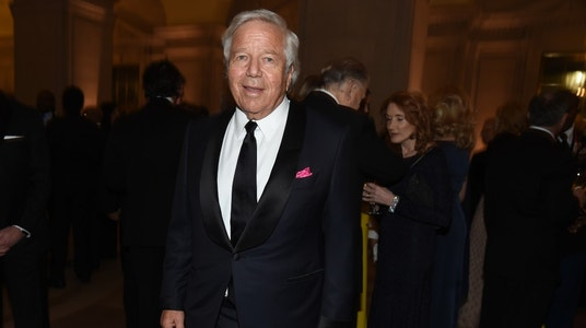 Patriots Owner Kraft's Busy Weekend: From Inauguration to AFC Title Game