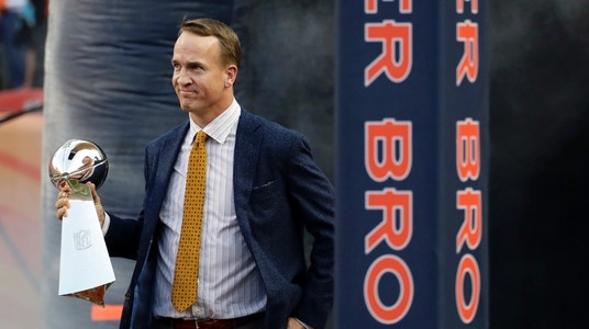 Peyton Manning to Huddle With Trump, GOP Lawmakers, Report Says