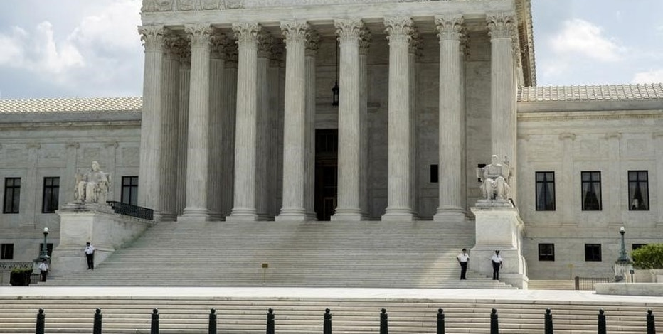 The Supreme Court stands in Washington May 18, 2015.   REUTERS/Joshua Roberts