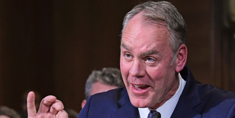 United States Representative Ryan Zinke (Republican of Montana) testifies before the US Senate Committee on Energy and Commerce as it holds a hearing considering confirmation of his appointment to be US Secretary of the Interior on Capitol Hill in Washington, DC on Tuesday, January 17, 2017. - NO'WIRE'SERVICE'- Photo by: Ron Sachs/picture-alliance/dpa/AP Images