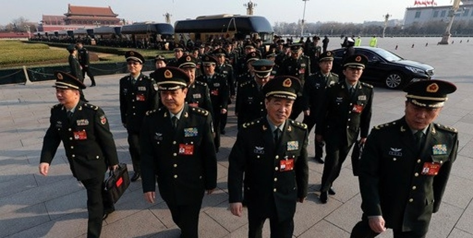 China defence spending to rise 'around 7pc'
