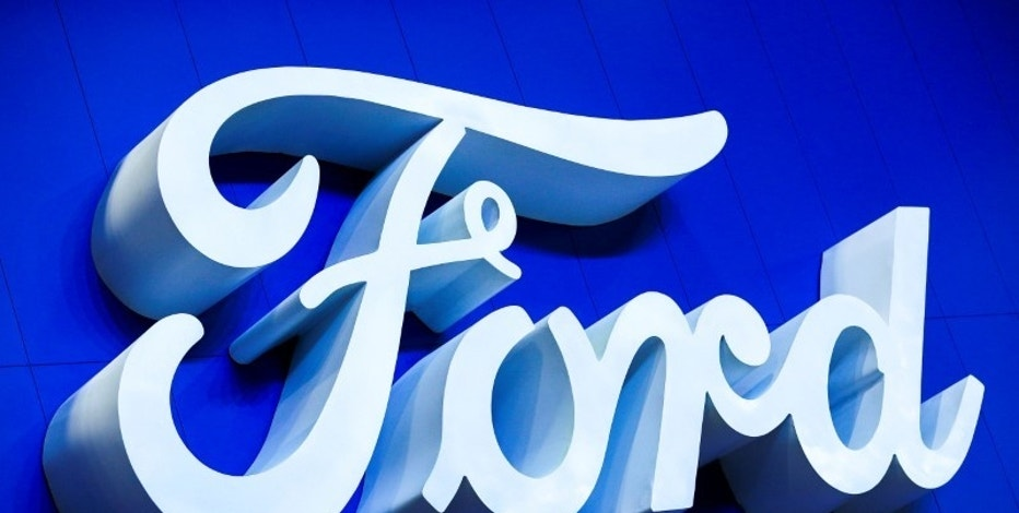 The logo of Ford is pictured at the 38th Bangkok International Motor Show in Bangkok, Thailand March 28, 2017. REUTERS/Athit Perawongmetha