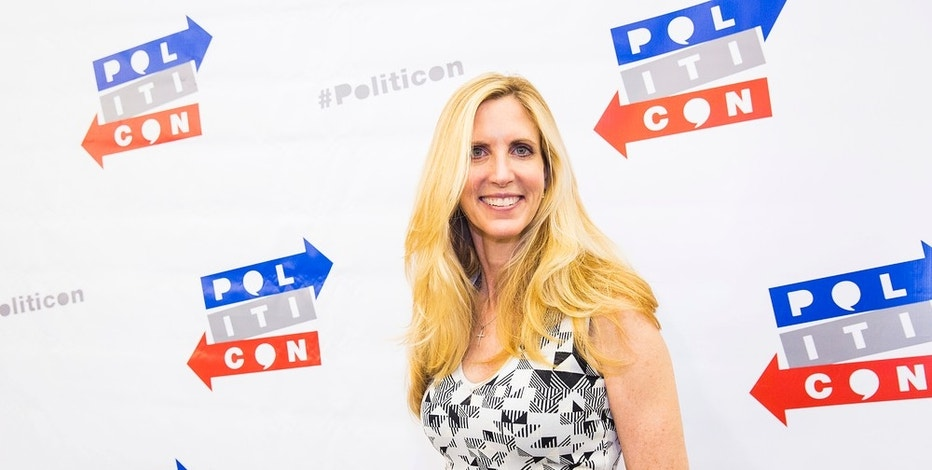Ann Coulter seen at Politicon 2016 at The Pasadena Convention Center on Saturday, June 25, 2016, in Pasadena, CA. (Photo by Colin Young-Wolff/Invision/AP)