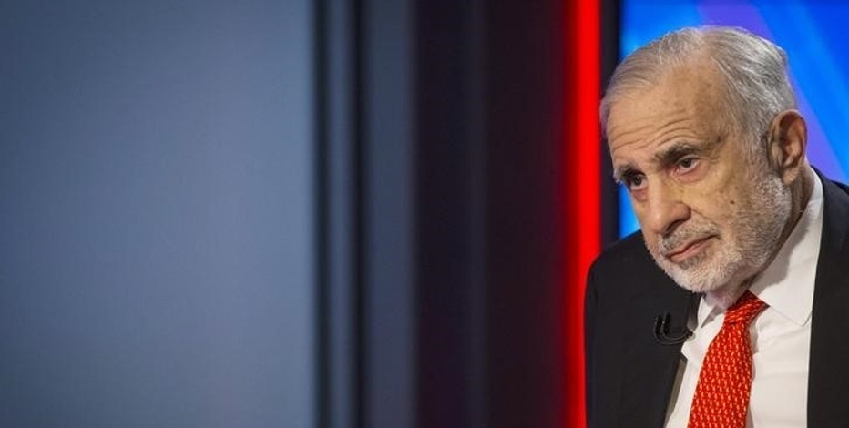 U.S.  senators seek insider trading investigation of Icahn