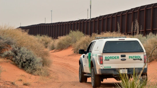 Border patrol agents discover 14 illegal immigrants in a dump truck