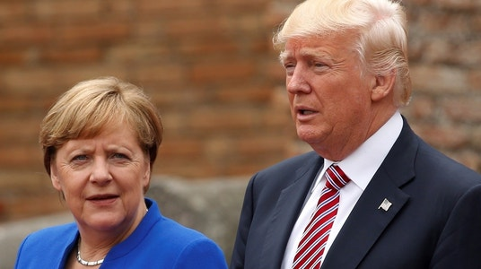 After summits with Trump, Merkel says Europe must take fate into own hands