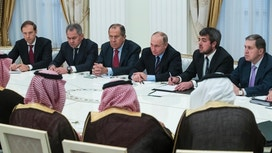 Saudis and Putin talk Syria and oil in strategic meeting